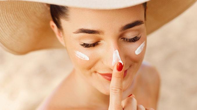 sunscreen damage skin