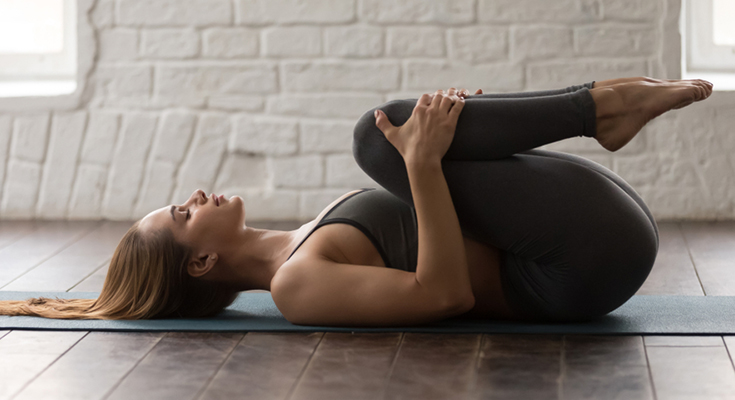 Apanasana Benefits And Steps (Knees to Chest Pose)