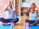 Migraine yoga pose