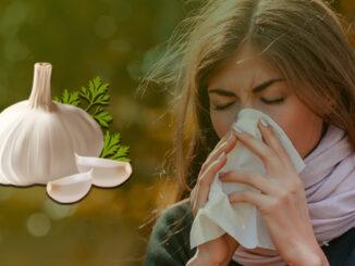 cold flu garlic